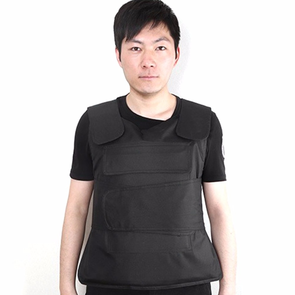 все цены на LESHP Flexible Concealable Aramid Tactical Outdoor Labor Protection Bulletproof Vest Covert Ballistic Vest Utility & Safety онлайн