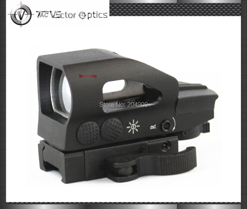 Vector Optics Tactical 1x23x34 Red Green Dot Phạm Vi 4 Kẻ O Sight