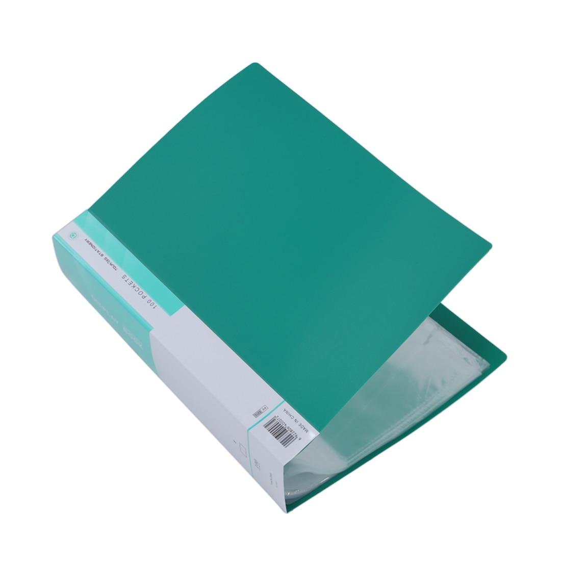 все цены на A4 Display Book Presentation Documents Storage Portfolio Folder 100 Pockets онлайн