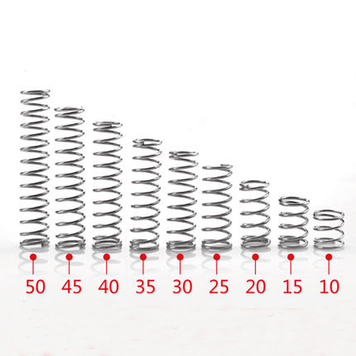 10Pcs 0.3mm Wire Diameter 2mm 6mm Outside Diameter 5mm 50mm Length Stainless Steel Compression Pressure Spring|Bolts|Home Improvement - AliExpress