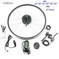 Когда-нибудь Электрический велосипед конверсионный комплект 48V 350W Задняя кассета ступицы Мотор колесо с KT LCD6 дисплей Ebike комплект
