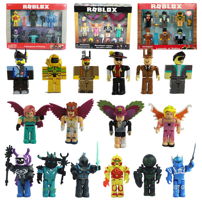 Cartoon PVC Roblox Game Figma Oyuncak Action Toys Figure Kids Collection Ornaments Toys Gift For Childrens Birthday Party Gift