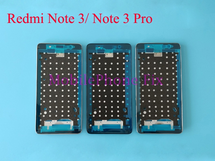 Front Frame Middle Bezel Housing Chassis For Xiaomi Redmi Note 3 / 3 Pro, 150mm/152mm LCD Screen Supporting Holder Frame Parts