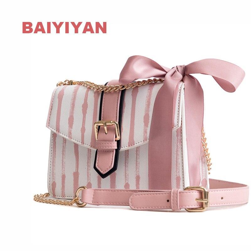 Nueva moda mujer Color Bar bolso de hombro pequeño cuadrado Paquete de compras bolso de mano mujer cadena bandolera