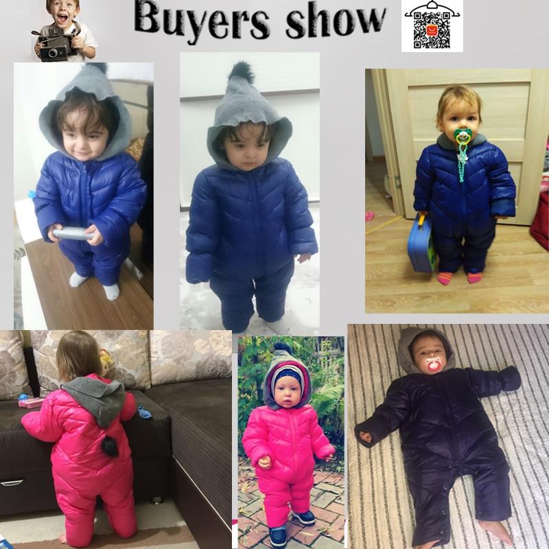 HH Baru Lahir Bayi musim dingin pakaian Bayi snowsuit cotton bawah - Pakaian bayi - Foto 2