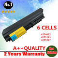 "Bateria do portátil para ThinkPad T61 ( 14.1 "" widescreen ) T400 R400 R61 R61i 42T4530 42T4531 42T4547 42T4652 42T5225"