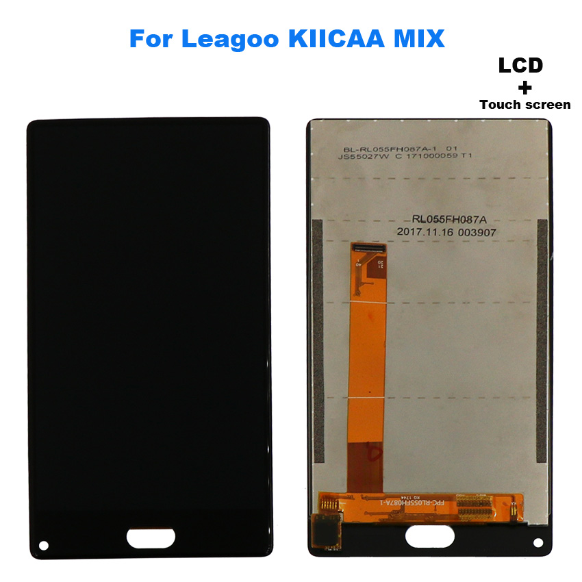 For Leagoo KIICAA MIX Touch Screen Replacement with LCD display and Touch Screen Digitizer Assembly with Tools