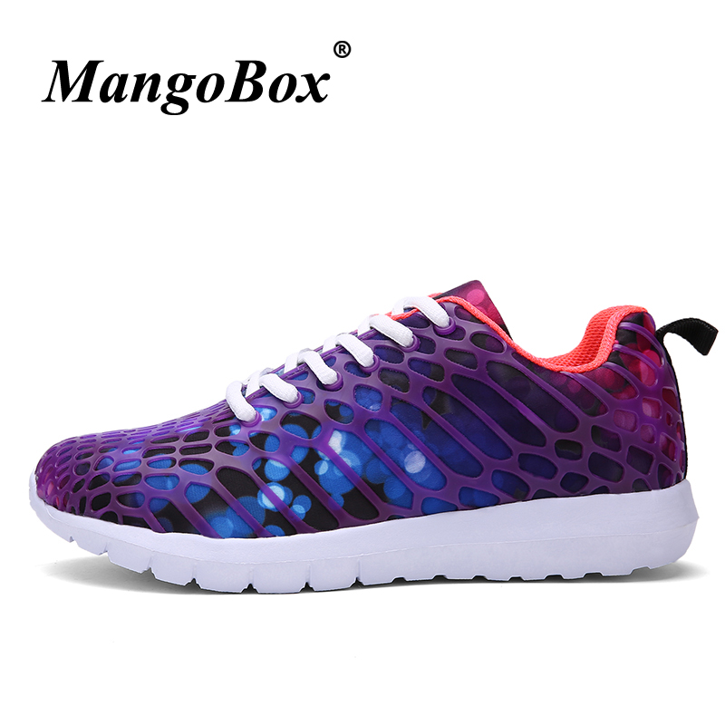 Couples Running Shoes Large Size 36-46 Training Shoes Male Blue Gray Woman Jogging Footwear Anti-slip Lightweight Sneakers