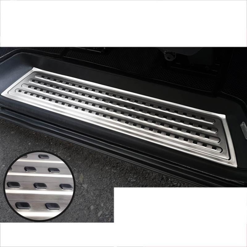 lsrtw2017 stainless steel car door sill threshold for volkswagen multivan Transporter 2016 2017 2018 2019 T6