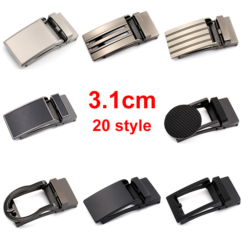 CETIRI 20 style 3.1cm Rachet   Belt   Buckles Comfort Men   Belt   High Quality Zinc Alloy Click   Belt   Buckles Suitable 3.1cm Wide   Belts