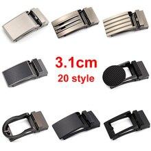 CETIRI 20 style 3.1cm Rachet Belt Buckles Comfort Men