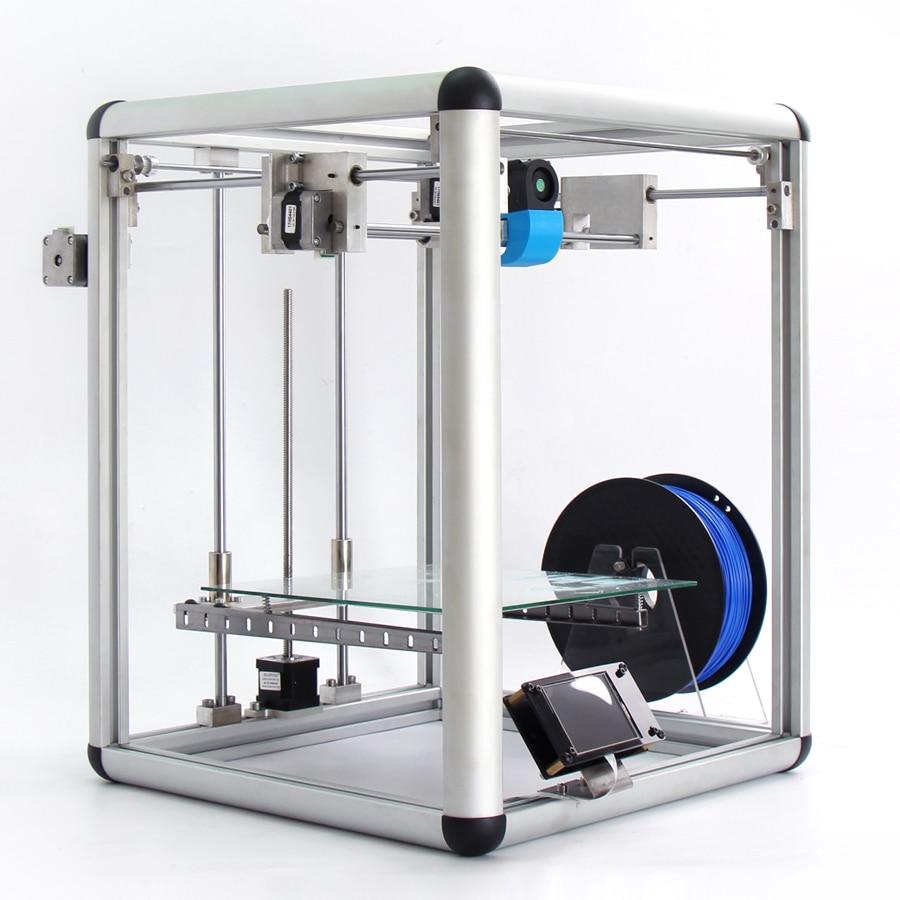 Jazz Aluminium Metal 3D Printer High Precision Large printing size 260 260 260mm 3d Printer Kit