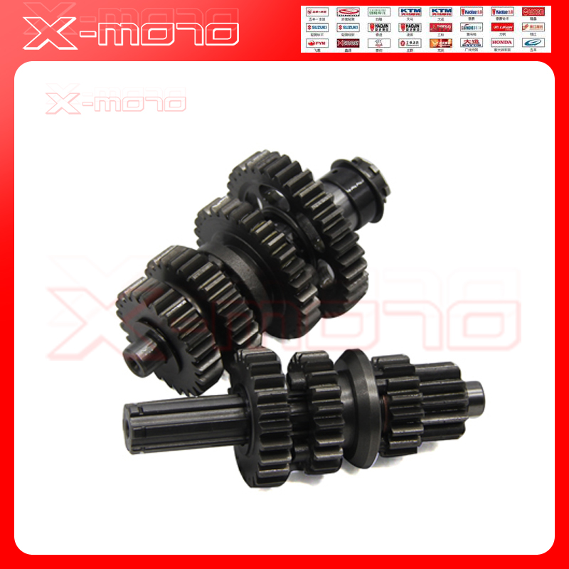 Genuine Lifan 125CC LF 125 LF125 Gear Boxes 20MM MainShaft CounterShafter 8 point huit повседневные брюки