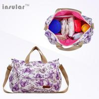 Diaper Bag Fashion Mummy Maternity Bags Nappy Bag Brand Baby Travel Backpack Diaper Organizer Nursing Bag For Baby Stroller