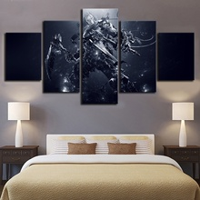 Darksiders Game 5 Piece Modern HD Print Wall Art Canvas For Living Room Decor Painting Home Artwork