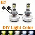 30 W H7 CREE LED farol farol conversão automática Kit Car LED 3000LM DRL lâmpada lâmpada fonte de luz Car Styling cor da luz 12 V - 24 V