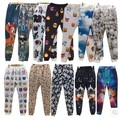 2015 3d print 100 Cien puntos emoji Joggers pantalones sonrisa cara pantalones mujeres hombres activo ocasional flojo lindo de la historieta del Envío gratis