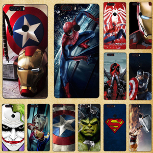 Super Hero Phone Case Cover For ZTE Blade Nubia V7 V6 Max Lite Silicone Back cover For ZTE A610 Plus + A520 A506 A512 Z981 A530