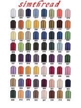 60 Brother Kleuren Serie Trilobal Polyester Machine Borduurgaren Gloeidraad Ideaal voor Meest Machine 1000 m * 60 Verschillende Kleurenthread dmcthread lockingembroidery thread cheap