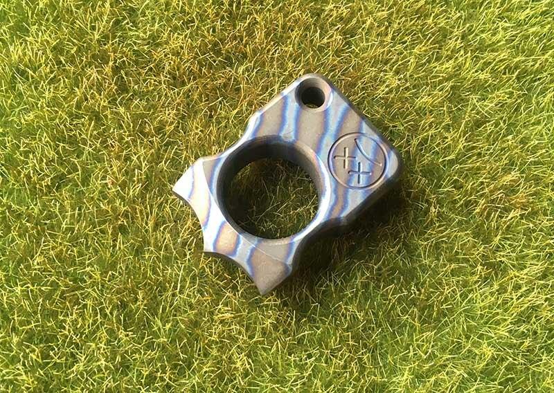 TIGEND Andy Frankart SFK TC4 titanium alloy punch outdoor buckle survival EDC multi-tool