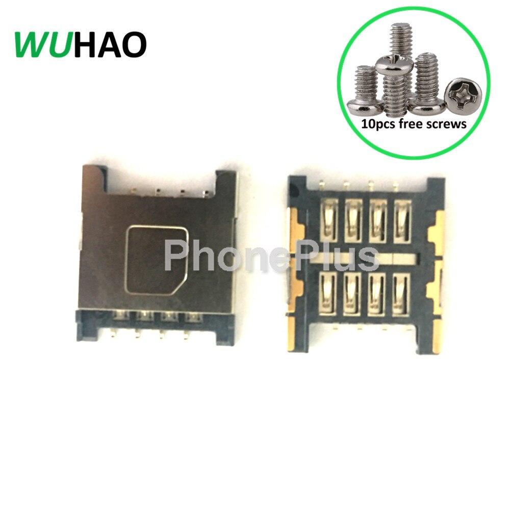 Для HTC Incredible S G11 S710e Raider 4 г X710e G19 Amaze 4 г X715e G22 T8285 sim-карты лоток разъем Ремонт Часть