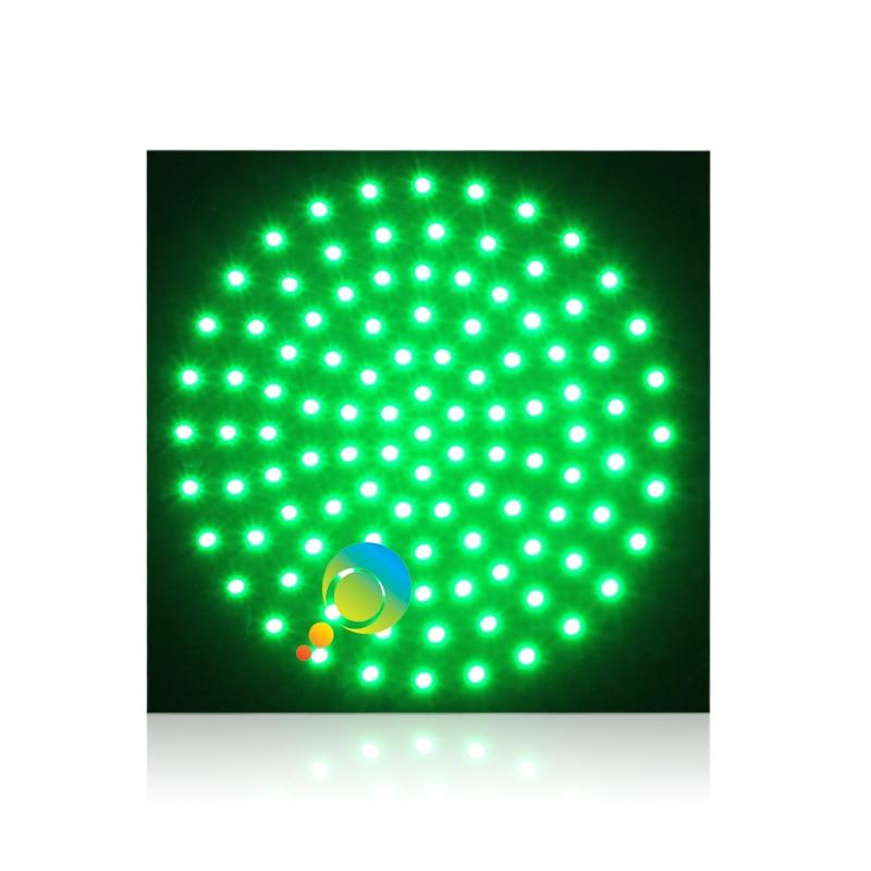 DC12V  New Design Square Green Traffic Light PCB Board For 300mm Traffic Signal Light