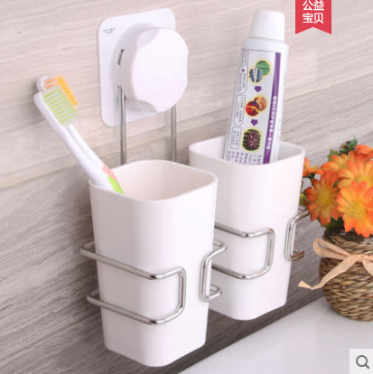 Remarkable Hot Wall Toothbrush Holder Set With 2 Wash Tooth Brush Mug Storage Cup Decorative Bathroom Shelf Bathroom Accessories Beutiful Home Inspiration Ommitmahrainfo