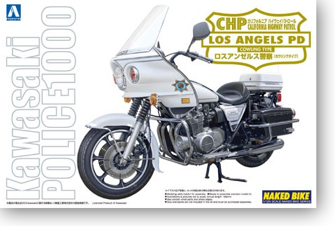 1/12 CHP Los Angeles PD Los Angeles Police Motorcycle 00330