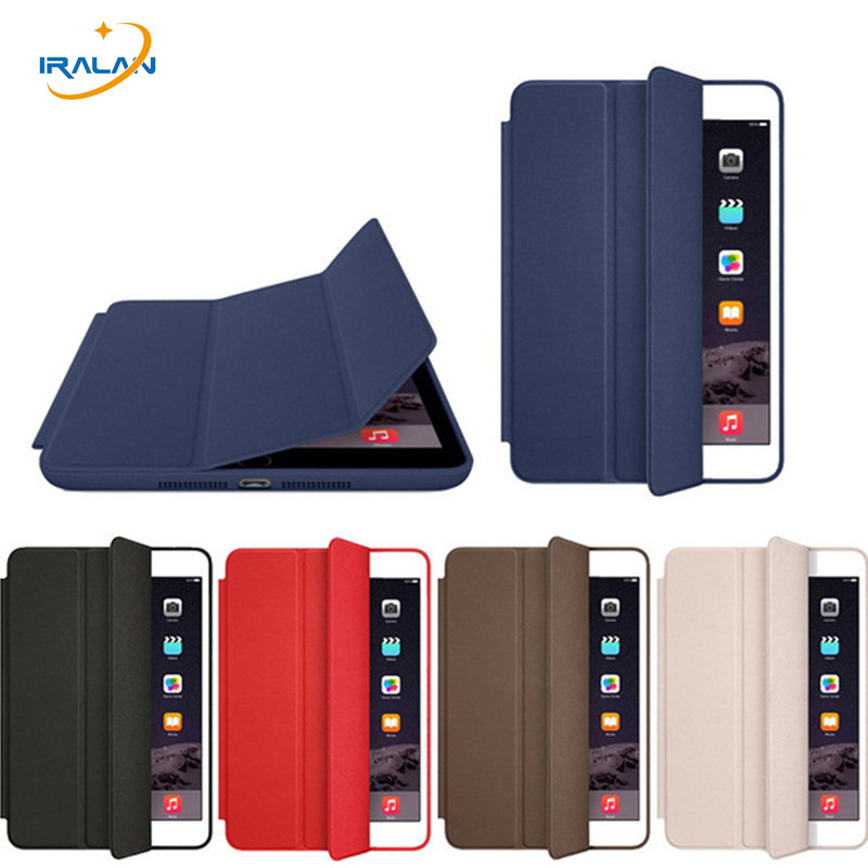 Hot PU Leather official Original 1:1 Case for Apple iPad mini 1 2 3 PC Back Light Smart Cover for mini 123 7.9 inch+film+stylus official original 1 1 case cover for apple ipad pro 12 9 2017 cases tpu smart clear cover for ipad pro ipad plus 12 9 2015 case