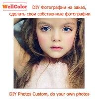 WELLCOLOR Photos Custom Make Your Own DIY Diamond Painting Cross Stitch Diamond Rhinestone Diamond Embroidery Mosaic