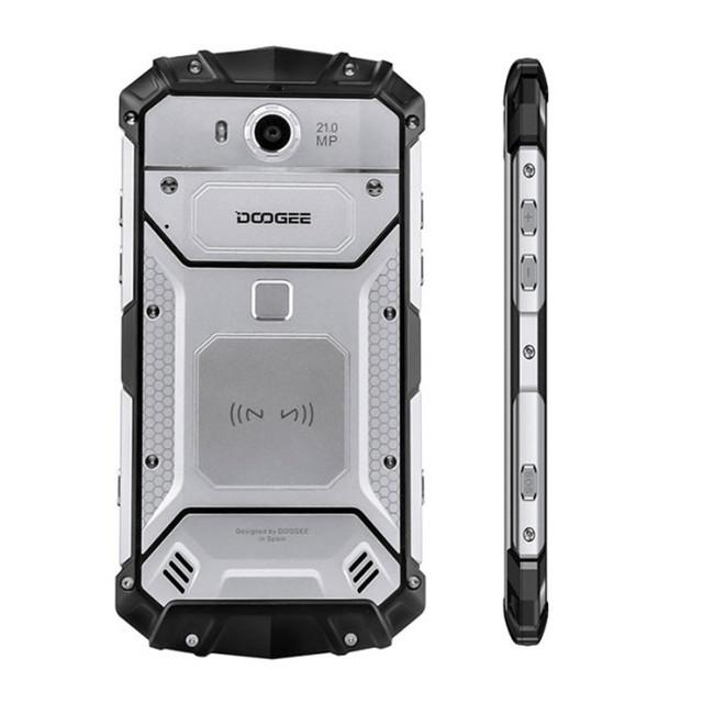 Envios da Espanha DOOGEE S60 6GB RAM 64GB ROM MTK Helio P25 2.5GHz Octa Core 5.2 Polegadas FHD Tela Android 4G LTE Smartphone