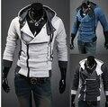 Edição Han cultivar a moralidade cor feitiço flanela de lã homem jaqueta placket inclinado fleece casaco plus-size
