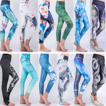 Tna lulu yoga pants 2017 fitness 3d yoga pants sports clothing sport leggings women sport women sportswear yoga leggings
