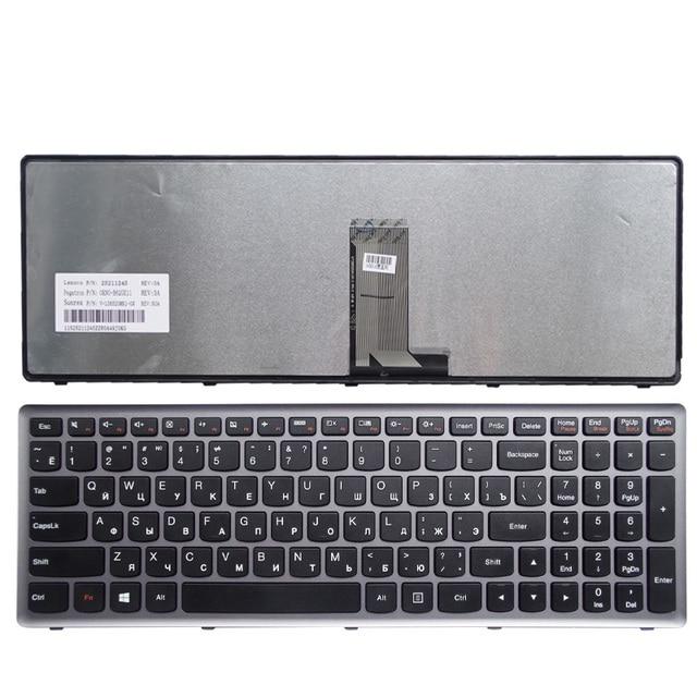 RU  Silver New FOR Lenovo U510 U510-IFI z710  Laptop Keyboard Russian