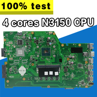 X751SA 4 cores N3150 CPU 4GB RAM Laptop motherboard For ASUS X751S X751SJ X751SV mainboard Tested Working