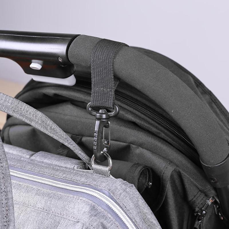 BalleenShiny крючок для коляски, прогулочная коляска, сумка для коляски, вешалка, крюк, детские коляски, сумка для подгузников, зажим, аксессуары для коляски