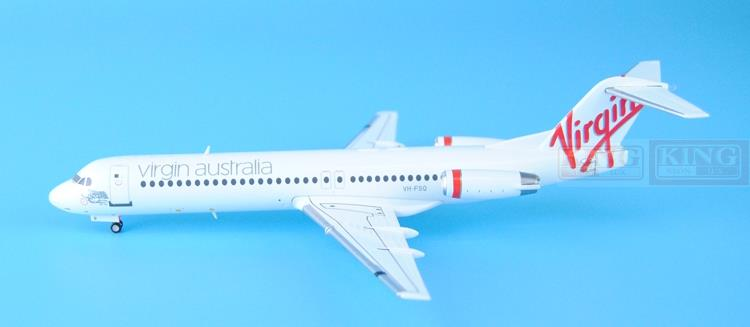 Wings XX2618: seckill JC virgin Australia company Fokker 1:200 100 commercial jetliners plane model hobby