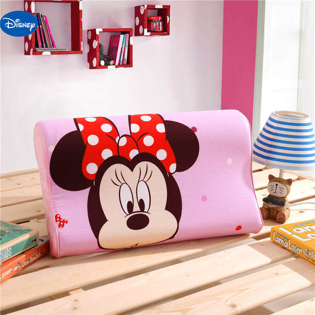 Disney Minnie Mouse Memory Pillows 40x40cm Slow Rebound Waving Foam Enchanting Minnie Mouse Decorative Pillow