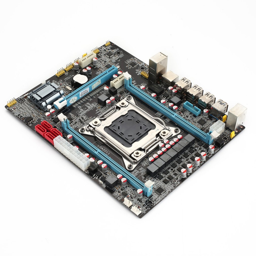E5 3.3C Motherboard 16G Multi-graphics card mainboard support for SLi LGA2011 X79 dual channel DDR3 with Intel Motherboard