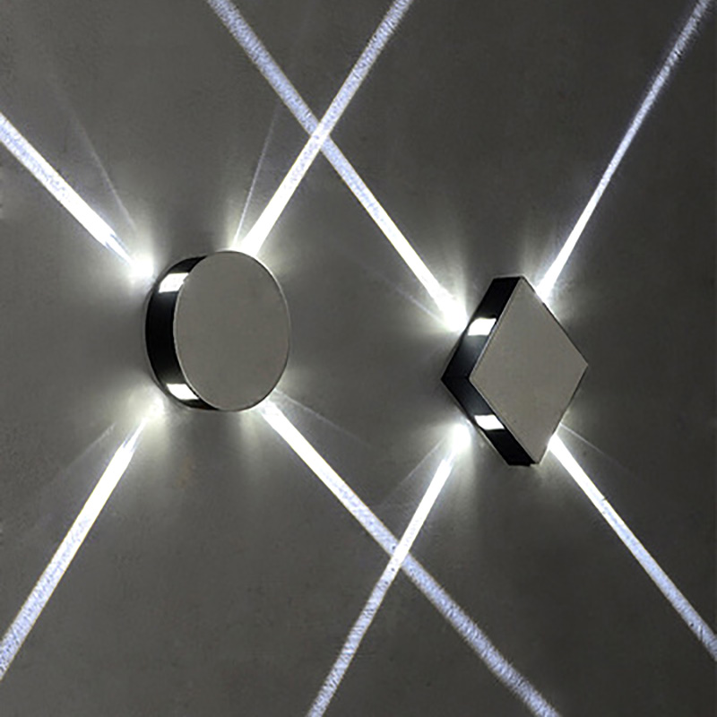 LED Modern Creative Aisle Round Square Wall Lamp Bedroom Bedside Corridor Staircase Hotel Project LED Indoor Lighting HALED Modern Creative Aisle Round Square Wall Lamp Bedroom Bedside Corridor Staircase Hotel Project LED Indoor Lighting HA