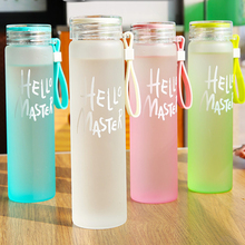 My Water Bottle Water Drinking Bottle Fashion Multi Color Popular Glass Water bottles Cup Readily Bottle With Lid Free BPA