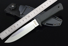 Koud Staal 13 RTSM SAN MAI RECON TANTO Camping Messen, 440c Blade ABS Handvat Black Coating Jacht Survival Mes.