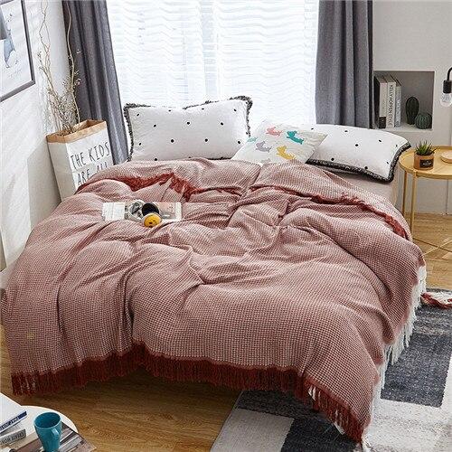 Fringe Blanket Quilt Mawgie