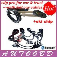 2013.3 R3 с bluetooth и OKI чип! Tcs CDP с Keygen + полный комплект 8 автомобилей кабели авто + грузовик диагностические инструменты