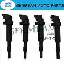 4 قطعة/الوحدة ملفات تشغيل محرك السيارات ل BMW E46 E53 E60 E70 E71 E90 X3 X5 M3 Z4 لا #12131712219 12137551260 12131712223