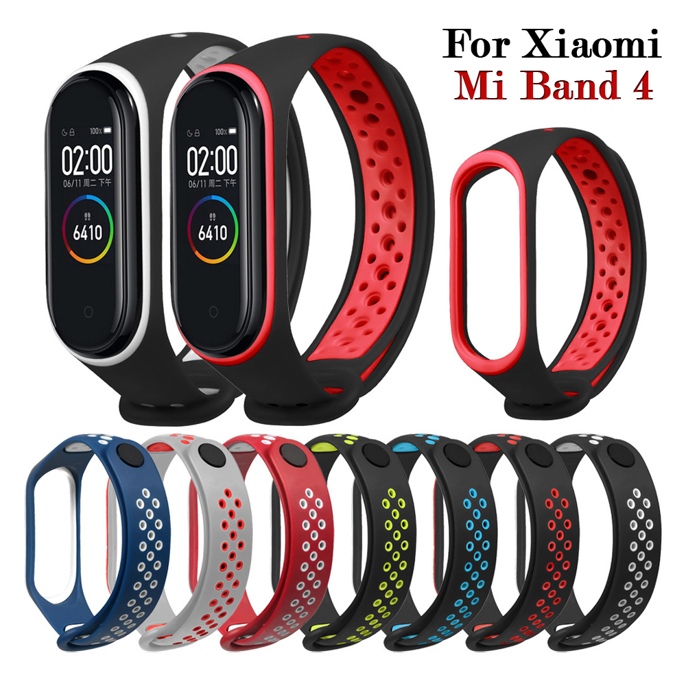 Replacement Wrist Strap On For Xiaomi Mi Band 4 Wristband Sport Style New Design Lightweight Xiao Mi Miband Band4 Watchstrap