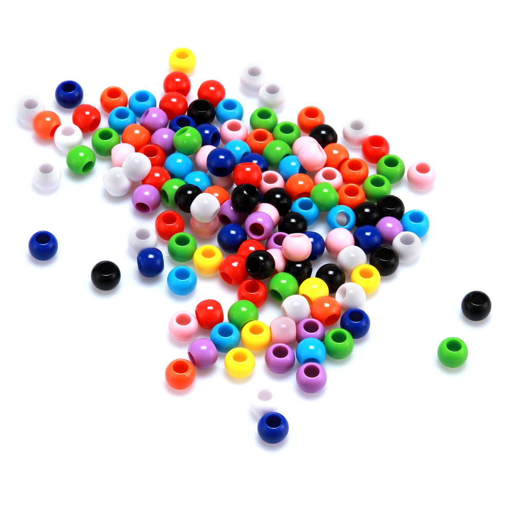 Loose Doreen Beads 23000PCs Mixed Round Acrylic Spacer 4mm DIY selling