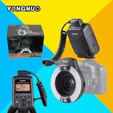 Yongnuo yn-14ex yn14ex para canon 6d 60d 5d mark iii 550d 1100d 650d 600d 700d 7d 5d3 Cámara TTL Macro Anillo de Luz de Flash Speedlite