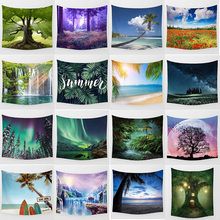 Hot sale fashion beauty large tapestry Wall Hanging Printed home decoration size M:150*130cm and L: 200*150cm