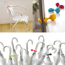 Portable Home Creative Gadget Cute Plastic Handy Mini Umbrella Hanger Holder Stand Support Rack Mount